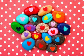 friendship heart friendship heart stones for back to school or s