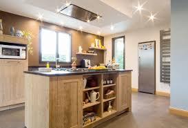 cuisine avec piano central îlot central avec piano intégré cosy loft