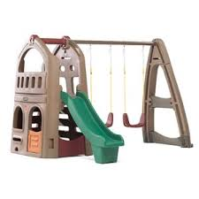 Backyard Discovery Winchester Playhouse Playhouse Swing Sets You U0027ll Love Wayfair