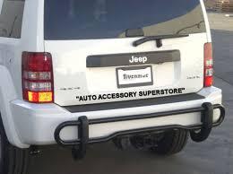 jeep liberty tow hitch auto accessory superstore 08 12 jeep liberty chrome rear bumper guard