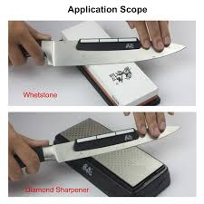 taidea knife sharpener angle guide whetstone diamond sharpening