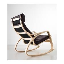 chaise bascule ikea poäng fauteuil à bascule glose brun foncé ikea