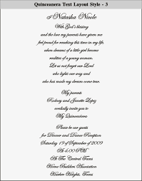sle wording for wedding programs quinceanera program wording s cards