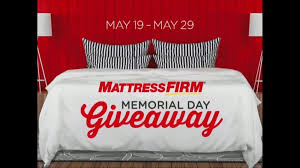 memorial day bed sale mattress firm memorial day sale tv commercial giveaway ispot tv