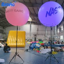 Outdoor Lighted Balls by Ao236 Party Inflatable Giant Balloon Tripod Ball Outdoor Christmas