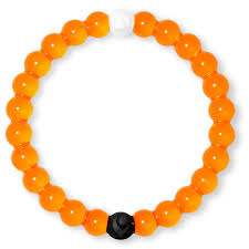 limited edition orange lokai bracelet small jewelry hallmark