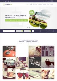 classified html5 templates u0026 themes free u0026 premium free