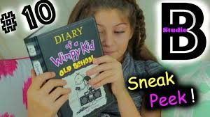 diary of a wimpy kid old unboxing and sneak peek youtube