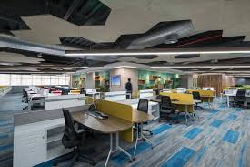 ge digital office interiors have the coolest working ambience