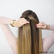 tutorial rambut waterfall how to do a dutch braid hair tutorial for beginners luxy hair