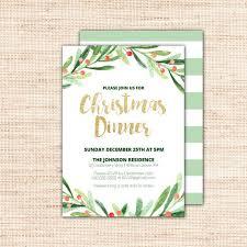 as 25 melhores ideias de christmas dinner invitation no pinterest