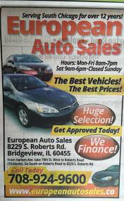 used cars pickup trucks specials bridgeview il 60455 european