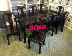 Rosewood Dining Room Set Livernois Featured Furniture Fredsuniquefurniture