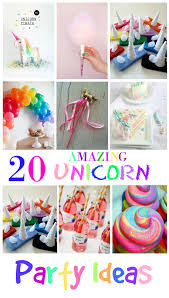 party ideas 20 amazing unicorn birthday party ideas for kids