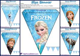 Pretty Bunting Flags Frozen Pretty Free Printable Bunting Is It For Parties Is It