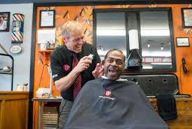 seattle barbers that do seahawk haircuts new barber shop hopes to be part of a birchwood revival the