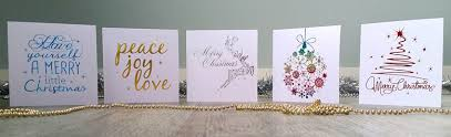 foil printed thank you cards for sale nz christmas cards