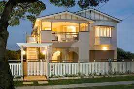 design your own queenslander home queensland homes blog real home outside it s a typical 1920s