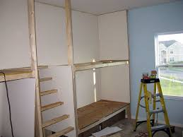 Plans For Building Built In Bunk Beds by 31 Best Beds For Boys Images On Pinterest 3 4 Beds Built Ins