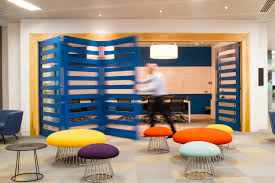 Office Design Interior Design Online by Peldon Rose Gives Justgiving Brand New Multifunctional Offices