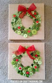 button wreath craft wreaths crafts wreaths and canvases