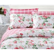 Unique Comforters Sets White And Red Floral Beautiful Country Unique Comforter Sets