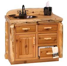 Vanity With Tops Aweinspiring Log Bathroom Vanity Rustic Bathroom Vanities With