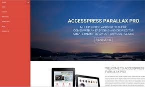 Home Designs Unlimited Reviews Accesspress Parallax Pro Review U2013 An Amazing Wordpress Theme With