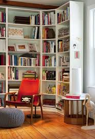 Corner Bookshelf Ideas 10 Rooms With Corner Shelving