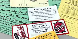 raffle ticket printing paper printing tickets for events and raffles