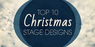 Church Stage Christmas Decorations Top 10 Christmas Stage Designs Church Stage Design Ideas
