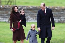 the royal family looked like a real card today