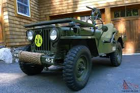 m38 jeep willys m38 military jeep fully restored