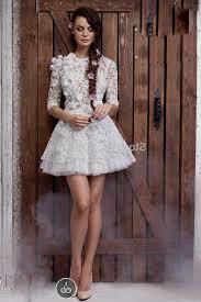 short lace wedding dresses naf dresses