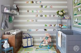 Wall Bookshelves For Nursery by Nursery With Brass Shelving Unit Transitional Nursery