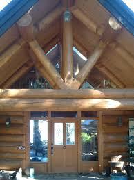 log house full scribe gallery artisan custom log homes