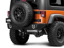 bumpers for jeep barricade wrangler trail hd rear bumper j100291 07 17