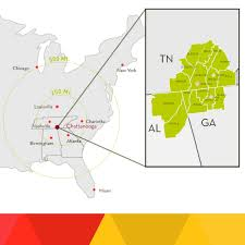 Greater Orlando Area Map by Market Access Greater Chattanooga Economic Partnership
