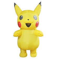 Pikachu Costume Pikachu Costume Pokemon Halloween Costumes For Inflatable