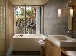 Spa Inspired Bathroom - 15 bold bathroom designs with concrete walls rilane