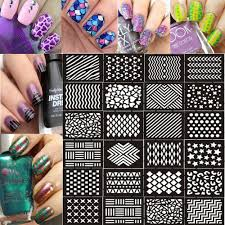 amazon com ejiubas 12 pcs 24 different designs nail vinyls nail