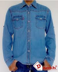 Baju Levis Biru kemeja pria lengan panjang levis b kemeja denim by daash id