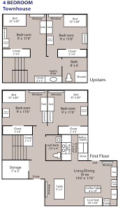 4 bedroom apartments nittany apartments 4 bedroom townhouse penn state university park