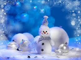 Snowman Home Decor Cheerful Snowman And Christmas Tree Decorations Wallpapers