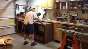 Woodshop Floor Plans by Small Wood Shop Setup Youtube