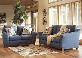 Sofas And Loveseats by Unclaimed Freight Furniture Pa Nj Janley Denim Sofa And Loveseat
