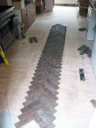laying a parquet floor hackney tools