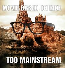 Hipster Disney Meme - big thunder hipster just off main street