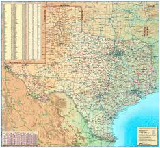State Map Of Texas by Texas Physical Wall Map By Compart Maps