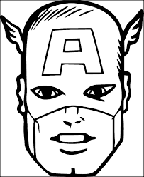 captian america coloring pages